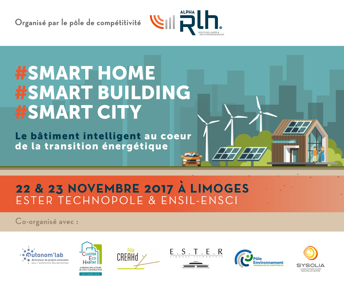 Illustration article Evènement Smart Home, Smart Building, Smart City - Le bâtiment intelligent au coeur de la transition énergétique
